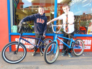 New SIBOTBMX ridersJoe and Bill got there Fit bikes today @SIBOTBMX
