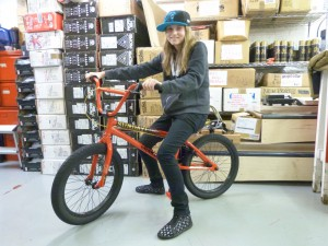 NEW SIBOTBMX RIDER EMILIE WITH HER SUNDAY