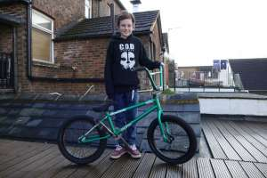 Like I said before we have watched Little josh (JT Cuningham) grow up in bmx, Since 6 years ago when he come to us and build up his first ever green machine and we knew from then he was going to be somthing special. For somone who is only 11 years old he can through his bike around like the best of us!! hes defaintly one to watch when your at the skatepark soo we have decided that we couldnt wait any long to announce that JT now runs with SIBOTBMX crew!! .
