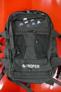 Proper bike co have done a limited run of 50 only THE SPACE INVADER CARRIER BAG.Be different and get one from sibotbmxshop.com or in store at sibotbmx horley.