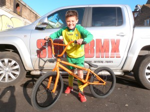 Freddie is another sibotbmx fly bike rider