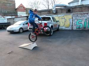 NEW SIBOTBMX RIDER ALBERT'S 12th BIRTHDAY PRESENT THE FLY ELECTRON