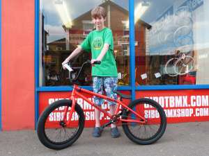 NEW SIBOTBMX RIDER JAMES AND HIS BLOOD ORANGE FLY ELECTRON