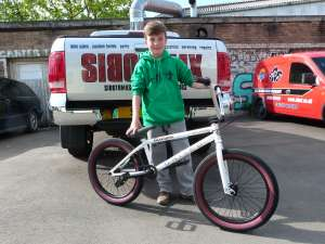 BMX IS SO SO ALIVE WITH NEW RIDERS LIKE TRISTAN JOINING SIBOTBMX YOUNG RIDERS ENERY DAY THIS TIME ON A UNITED SUPREME 2014