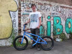 JAME'S BECOMES JET ANOTHER NEW RIDER TO SIBOTBMX WHEN HE COLLECTED HIS NEW FLY PROTON,NOW HE DON'T HAVE TO KICK HIS BROTHERS BIKE ANYMORE.