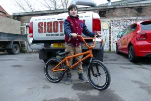 Co came all the way from Holland to sibotbmx shop in Horley for his new United bikes Recruit 18 because his dad wanted a BMX from a BMX shop not a bike shop.Thats cool.
